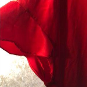 Victoria's Secret Intimates & Sleepwear - Victoria's Secret OS satin robe front tie, ruffle